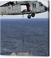 N Mh-60s Sea Hawk En Route Canvas Print