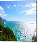 Na Pali Coastline  Canvas Print