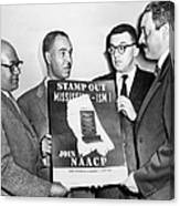Naacp Leaders, 1956 Canvas Print