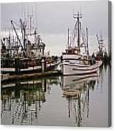 Nafco Fishing Boat Canvas Print