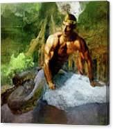 Naga - King Cobra Canvas Print