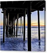 Nags Head Pier - A Different View Canvas Print