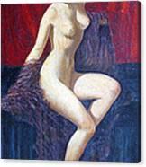 Naked Beauty Canvas Print