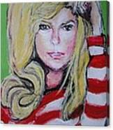 Nanct Sinatra Canvas Print