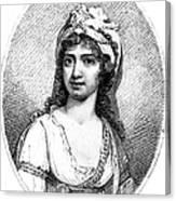 Nancy Storace (1765-1817) Canvas Print