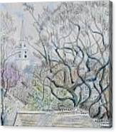 Nantucket Roof -tops  Canvas Print