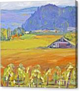 Napa Valley Mountains Canvas Print
