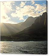 Napali Coast Sunrise Canvas Print