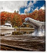 Napanee Harbour One Canvas Print