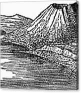 Naples: Monte Nuovo, 1887 Canvas Print
