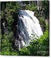 Narada Falls Through The Trees Canvas Print