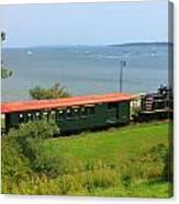 Narrow Gauge Railroad Portland Maine Canvas Print