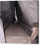Narrow Stairway Canvas Print