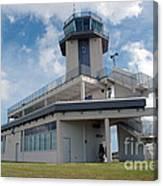 Nasa Air Traffic Control Tower Canvas Print