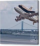 Nasa Enterprise Space Shuttle Canvas Print