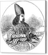 Naser Al-din Canvas Print