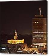 Nashville Cityscape 5 Canvas Print