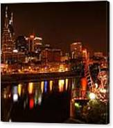 Nashville Lights Canvas Print