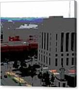Nashville Posterized  Canvas Print