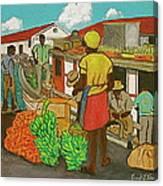 Nassau Fruit Boat Canvas Print