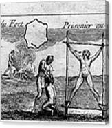 Natchez Punishment, C1725 Canvas Print