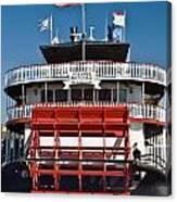 Natchez Riverboat Canvas Print
