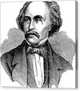 Nathaniel Hawhtorne Canvas Print