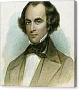 Nathaniel Hawthorne Canvas Print