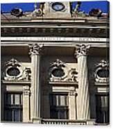 National Bank Of Romania Canvas Print
