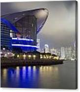 National Convention Center At Night Canvas Print