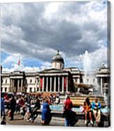 National Gallery At Trafalgar Square Canvas Print