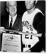 National League President Warren Giles Canvas Print