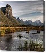 National Park Thailand Canvas Print