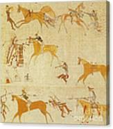 Native American Art Canvas Print