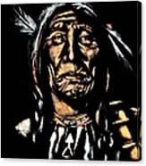 Native American Elder Canvas Print
