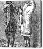 Native Americans: Flatheads Canvas Print