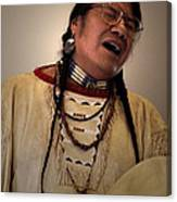 Native Cheyenne Chant Canvas Print