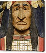 Native Chief Canvas Print