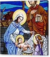Nativity At Valley Ranch Canvas Print