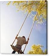 Natural Swing Canvas Print