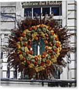 Natural Wreath Canvas Print