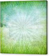 Nature Grunge Paper Canvas Print