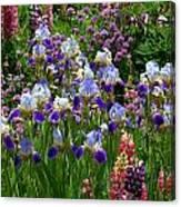 Natures Bouquet Canvas Print