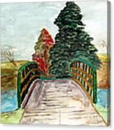 Natures Pathway Canvas Print