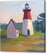 Nauset Lighthouse Cape Cod Canvas Print