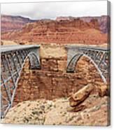 Navajo Bridge In Arizona Canvas Print