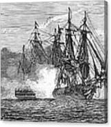 Naval Battle, 1813 Canvas Print