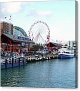 Navy Pier Chicago Summer Time Canvas Print