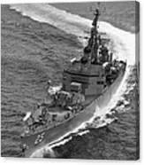 Navy: Uss Bainbridge, 1968 Canvas Print