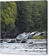 Nawadaha Falls 1 Canvas Print